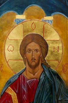 Healing Christ Detail